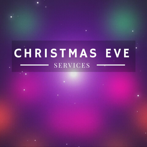 Christmas Eve Services graphic